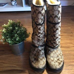 Coach Shoes - Authentic Coach Snow Boots